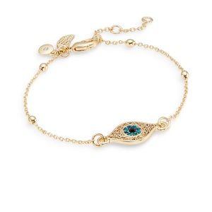 Rachel Roy evil eye bracelet